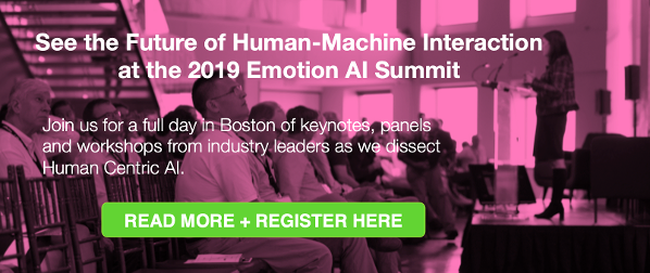 Emotion AI Summit 2019